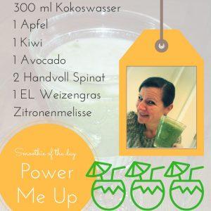 Smoothie: Power Me Up! mit Dr. Gabriela Hoppe | Erfolg durch Ernährung | Ernährungsspezialistin & Heilpraktikerin