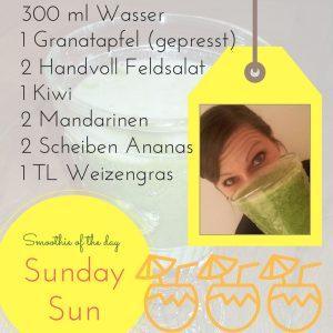 Smoothie-Rezept Sunday Sun mit Dr. Gabriela Hoppe | Erfolg durch Ernährung | Ernährungsspezialistin & Heilpraktikerin