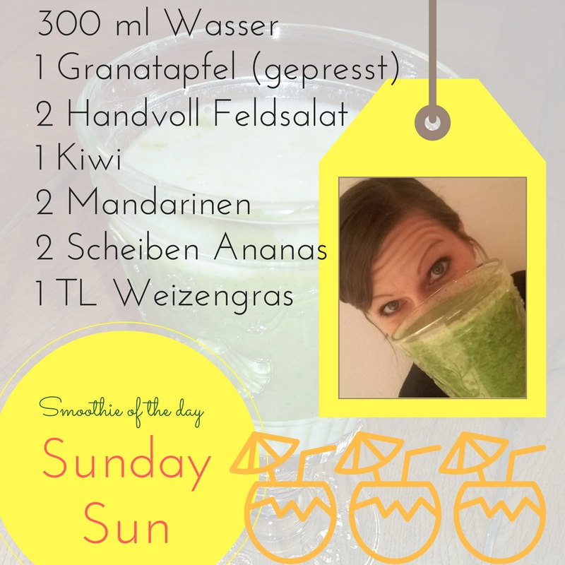 Smoothie-Rezept Sunday Sun