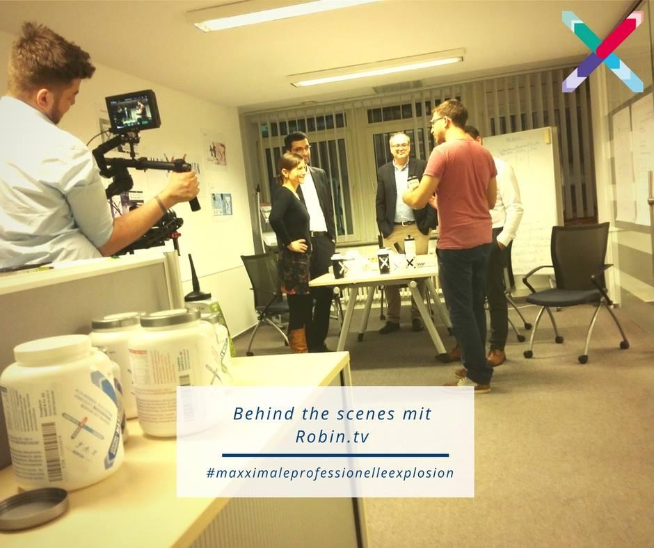 Robin.tv bei Maxxprosion mit Dr. Gabriela Hoppe | Erfolg durch Ernährung | Ernährungsspezialistin & Heilpraktikerin