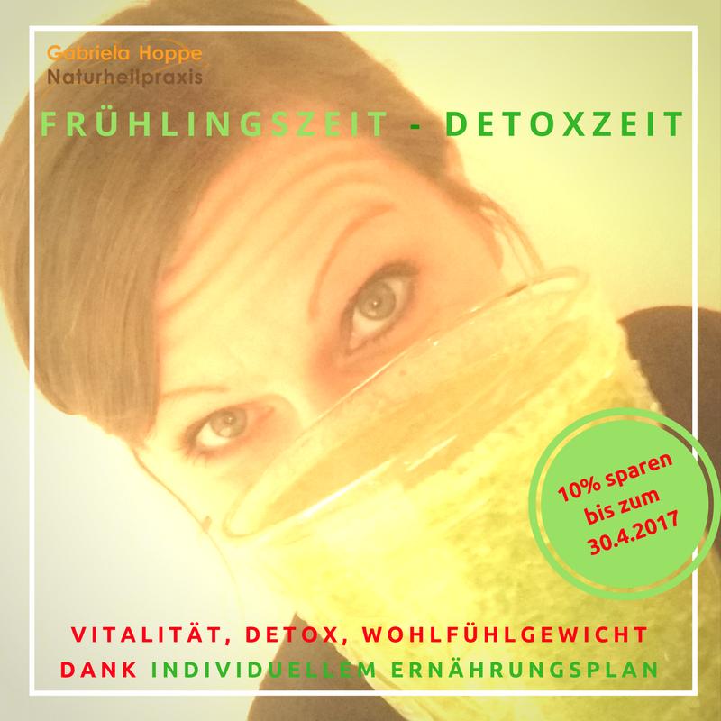 Frühlingszeit - Detoxzeit mit Dr. Gabriela Hoppe | Erfolg durch Ernährung | Ernährungsspezialistin & Heilpraktikerin