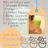 Smoothie of the Day- gesund Ernähren mit Dr. Gabriela HoppeDr. Gabriela Hoppe | Erfolg durch Ernährung | Ernährungsspezialistin & Heilpraktikerin