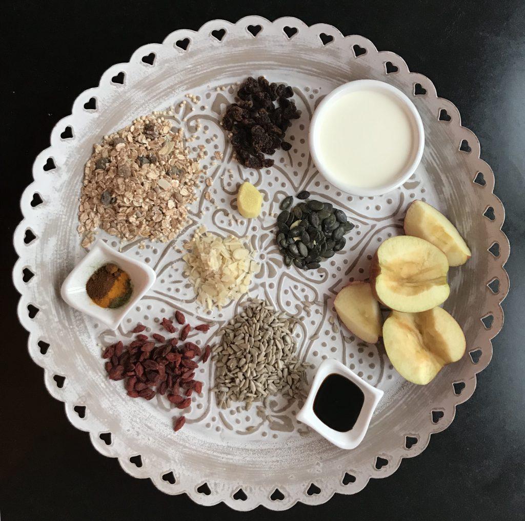 Ingwer-Chili-Boost-Gewürzmüsli - Gesunde Ernährung mit Dr. Gabriela Hoppe