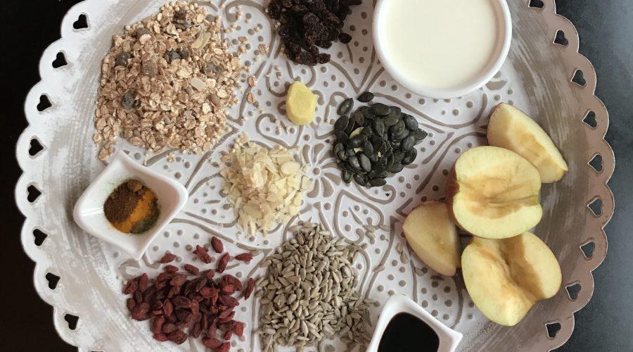Ingwer-Chili-Boost-Gewürzmüsli - Gesunde Ernährung mit Dr. Gabriela Hoppe | Erfolg durch Ernährung | Ernährungsspezialistin & Heilpraktikerin
