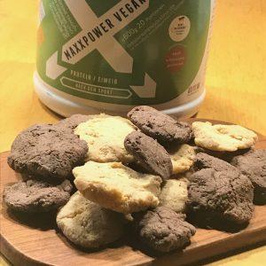 Double-choc-peanutbutter-protein-cookies in 5 Minuten backen mit Dr. Gabriela Hoppe | Erfolg durch Ernährung