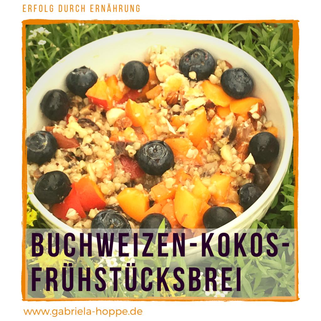 Buchweizen-Kokos-Fruehstuecksbrei