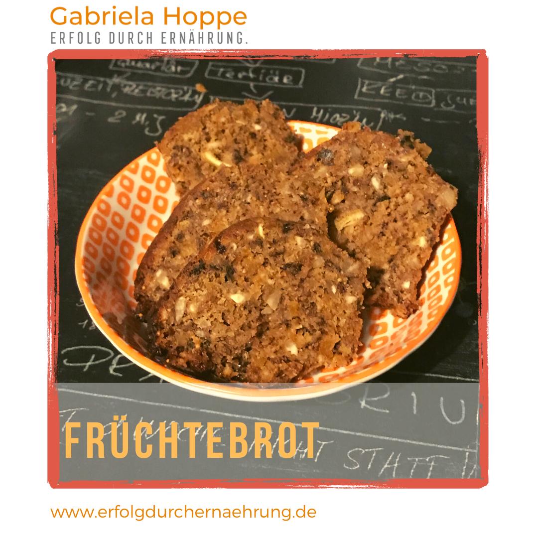 Früchtebrot mit Dr. Gabriela Hoppe | Erfolg durch Ernährung | Deine Ernährungsspezialistin & Heilpraktikerin in Hannover
