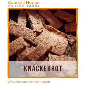 Knäckebrot glutenfrei mit Dr. Gabriela Hoppe | Erfolg durch Ernährung | Deine Ernährungsspezialistin & Heilpraktikerin in Hannover/Isernhagen | Bild by GH