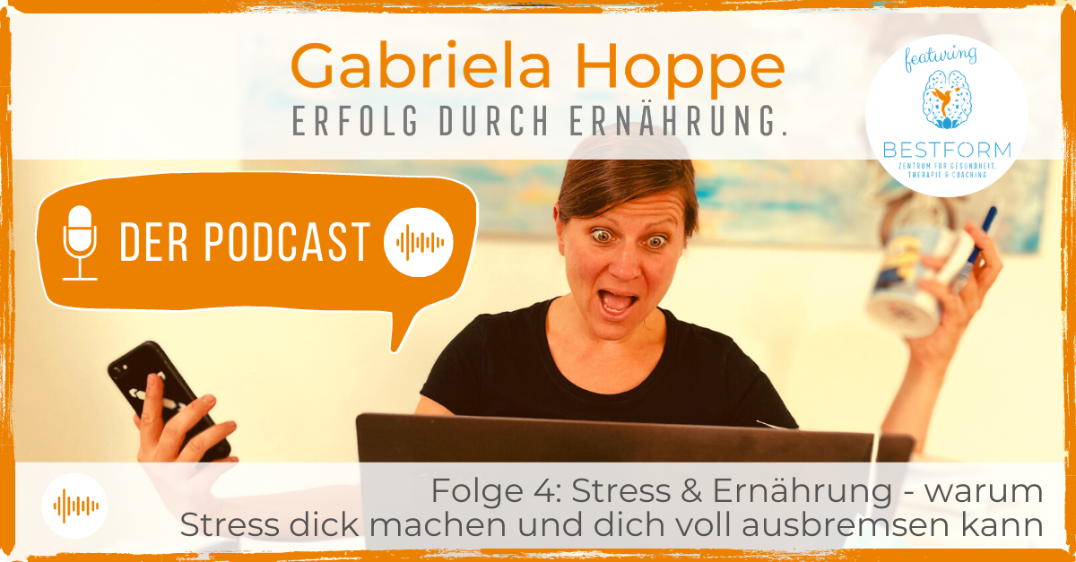 Der Ernährungs-Podcast Erfolg durch Ernährung mit Dr. Gabriela Hoppe | Erfolg durch Ernährung | Ernährungsspezialistin & Heilpraktikerin - Hintergrundbild by GH