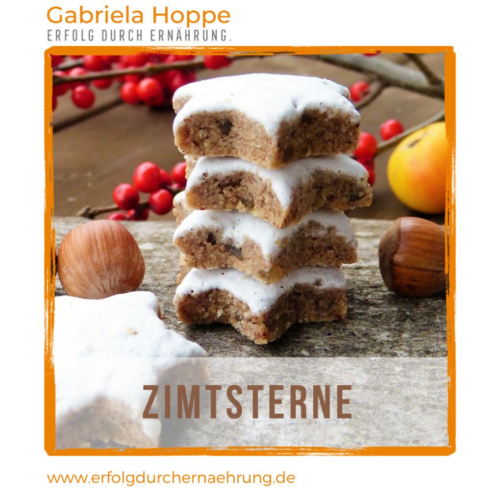 Zimtsterne mit Honig mit Dr. Gabriela Hoppe | Erfolg durch Ernährung | Deine Ernährungsspezialistin & Heilpraktikerin in Hannover/Isernhagen | Bild by Pixabay