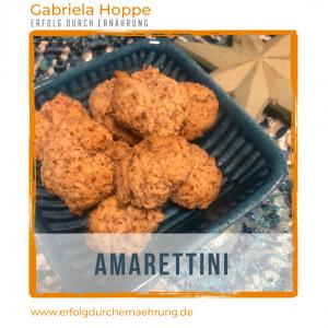 Amarettini mit Dr. Gabriela Hoppe | Erfolg durch Ernährung | Deine Ernährungsspezialistin & Heilpraktikerin in Hannover/Isernhagen | Bild by GH