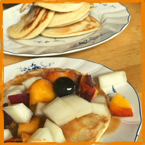 Pancakes glutenfrei mit Dr. Gabriela Hoppe | Erfolg durch Ernährung | Deine Ernährungsspezialistin & Heilpraktikerin in Hannover/Isernhagen | Bild by GH