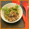 Veganer Quinoasalat mit Pilzen & Rucula mit Dr. Gabriela Hoppe | Erfolg durch Ernährung | Deine Ernährungsspezialistin & Heilpraktikerin in Hannover/Isernhagen | Bild by GH