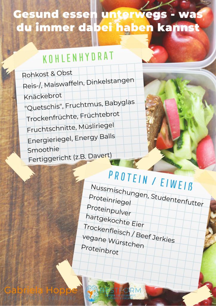 Gesund Essen unterwegs mit Dr. Gabriela Hoppe   Erfolg durch Ernährung   Ernährungsspezialistin & Heilpraktikerin - Hintergrundbild by Canva