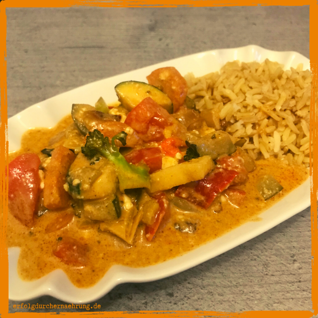 Vindaloo Thai Curry mit Dr. Gabriela Hoppe | Erfolg durch Ernährung | Deine Ernährungsspezialistin & Heilpraktikerin in Hannover/Isernhagen | Bild by GH