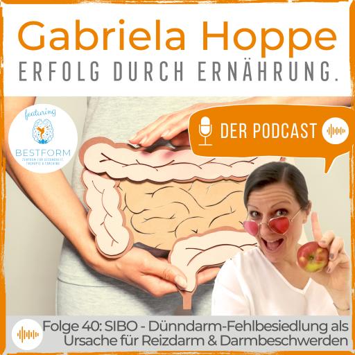 Der Ernährungs-Podcast Erfolg durch Ernährung mit Dr. Gabriela Hoppe | Erfolg durch Ernährung | Ernährungsspezialistin & Heilpraktikerin - Hintergrundbild by Canva